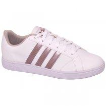 Imagem - Tênis Adidas Vs Advantage Aw3865 Branco/Rose - 001059300342285