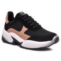 Imagem - Tênis Chunky Dad Sneaker Via Marte 20-4001 Nobuck Preto/Terracota - 001005503582874