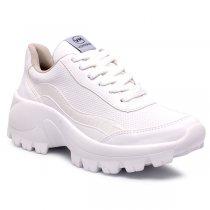 Imagem - Tênis Chunky Dad Sneaker Via Marte 20-7695 Napa Branco - 001005503600005