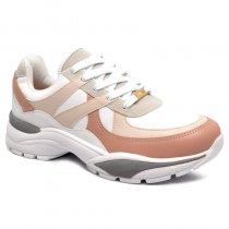 Imagem - Tênis Chunky Dad Sneaker Vizzano 1331208 Branco/Creme/Rosa - 001005503332784