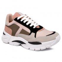 Imagem - Tênis Chunky Sneaker Via Marte 19-12157 Grey/Preto/Marfim - 001005503262736