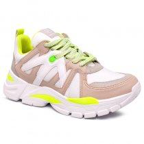 Imagem - Tênis Chunky Sneaker Via Marte 19-12175 Marfim/Grey/Branco - 001005503252735