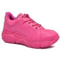 Imagem - Tênis Dad Sneaker Chunky Quiz 66-1732-01 Napa Fucsia - 001005503340131