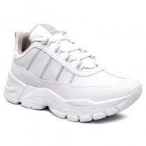 Imagem - Tênis Dad Sneaker Chunky Via Marte 19-12103 Branco/Transparente - 001005503272755