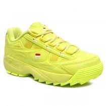 Imagem - Tênis Dad Sneaker Flatform Fila Formation 909993 Verde Neon - 001005503551720