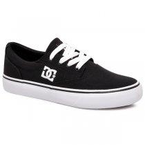 Imagem - Tênis Dc Shoes New Flash Evo 2TX ADJS300194R Preto/Branco - 001056801481081