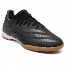 Imagem - Tênis Futsal Adidas X Ghosted.3 FW3544 Masculino Preto/Cinza