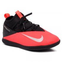 Imagem - Tênis Futsal Botinha Infantil Nike Jr Phantom VSN CD4072-606 Preto/Vermelho - 019031401101090