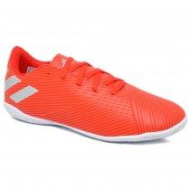 Imagem - Tênis Futsal Infantil Adidas Nemeziz 19.4 F99938 Vermelho/Prata