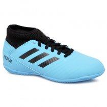 Imagem - Tênis Futsal Infantil Adidas Predator 19.3 G25807 Azul/Preto - 019031400921077