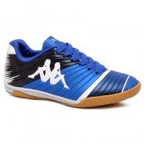 Imagem - Tênis Futsal Infantil Kappa Striker 2 8358 Azul/Branco - 019031400931102