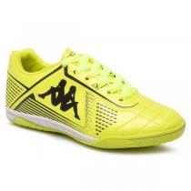 Imagem - Tênis Futsal Infantil Kappa Klaus 351216W Amarelo/Preto - 019031401201466