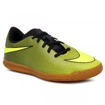 Imagem - Tênis Futsal Infantil Nike Bravata 2 IC 844438-070 Amarelo/Preto - 019031400721466