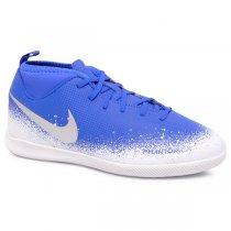 Imagem - Tênis Futsal Infantil Nike Phantom VSN Club AO3293-410 Azul/Branco - 019031400791102