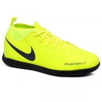 Imagem - Tênis Futsal Infantil Nike Phantom Vsn Club DF AO3293-717 Amarelo Neon - 019031401041817