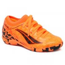 Imagem - Tênis Futsal Infantil Penalty Rx Locker Vii Laranja/Preto/Vermelho - 019031401012103