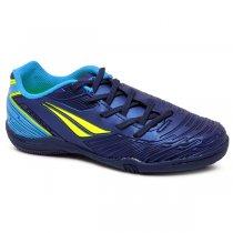 Imagem - Tênis Futsal Infantil Penalty Speed Kids XX 126207 Marinho/Azul/Amarelo - 019031401152168