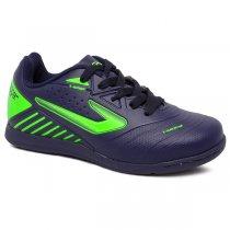 Imagem - Tênis Futsal Infantil Topper Boleiro 3 TP00850001 Marinho/Verde Neon - 019031401180709
