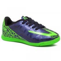 Imagem - Tênis Futsal Infantil Topper Ultra 2 4203549 Azul Marinho/Verde - 019031400780709