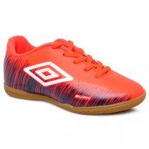 Imagem - Tênis Futsal Infantil Umbro Burn OF82065 Coral/Azul Marinho/Branco - 019031401002674