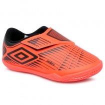 Imagem - Tênis Futsal Infantil Umbro Soul 2 OF82062 Coral/Preto - 019031400992672