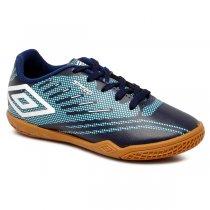 Imagem - Tênis Futsal Infantil Umbro Speed IV OF82053 Azul Marinho/Azul/Branco - 7909527200722