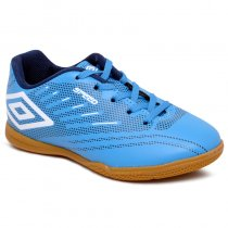 Imagem - Tênis Futsal Infantil Umbro Speed Iv OF82053 Azul/Azul Marinho/Branco - 019031400692336