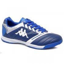 Imagem - Tênis Futsal Kappa Bryce Azul/Branco - 019043401641102