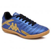 Imagem - Tênis Futsal Kappa Quarter 2 8310 Azul Marinho/Ouro - 019043401532757