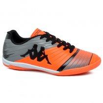 Imagem - Tênis Futsal Kappa Striker 2 8358 Laranja/Preto - 019043401422293