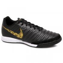 Imagem - Tênis Futsal Masculino Nike Legend 7 Academy AH7244-077 Preto/Dourado - 019043401161546