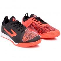 Imagem - Tênis Futsal Topper Velocity TD 420041 Preto/Coral - 019043401302298