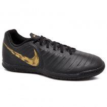 Imagem - Tênis Futsal Nike Legend 7 Club AH7245-077 Preto/Dourado - 019043401321546