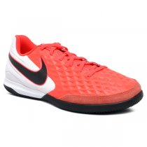 Imagem - Tênis Futsal Nike Legend 8 Academy AT6099-606 Couro Rosa Pink/Branco - 019043401572794