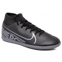 Imagem - Tênis Futsal Nike Superfly 7 Club AT7979-001 Preto/Cinza - 019043401431079