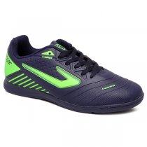Imagem - Tênis Futsal Topper Boleiro 3 TP00820001 Marinho/Verde Neon - 019043401610709
