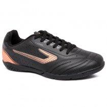Imagem - Tênis Futsal Topper Drible 2 4203544 Preto/Rosa - 019031400981503