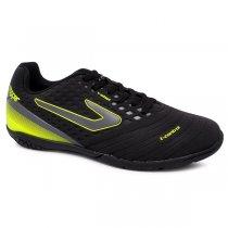 Imagem - Tênis Futsal Topper Drible III TP00880002 Preto/Chumbo/Amarelo - 019043401622839