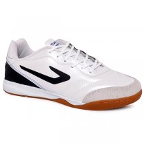 Imagem - Tênis Futsal Topper Maestro 4200417 Branco/Preto - 019043400861088