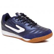 Imagem - Tênis Futsal Topper Maestro TD2 4203615 Azul Marinho/Branco - 019043401241147