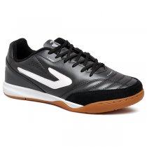 Imagem - Tênis Futsal Topper Maestro TD2 4203615 Preto/Branco - 019043401241081