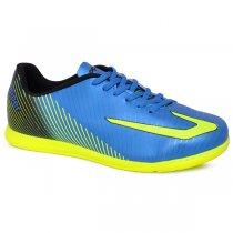 Imagem - Tênis Futsal Topper Ultra 420040957 Azul/Amarelo/Preto - 019043401102391
