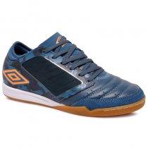 Imagem - Tênis Futsal Umbro Chaleira OF72120 Verde/Branco/Laranja - 019043401332601