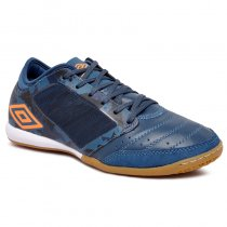Imagem - Tênis Futsal Umbro Chaleira OF72154 Verde/Branco/Laranja - 019043401522601