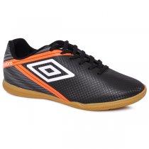 Imagem - Tênis Futsal Umbro Drako OF72113 Preto/Grafite/Laranja - 019043401040324