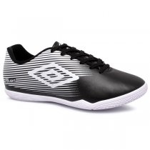 Imagem - Tênis Futsal Umbro F5 Light OF72122 Preto/Branco - 019043401191081