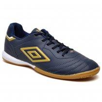 Imagem - Tênis Futsal Umbro Speciali 3 League Navy/Gold