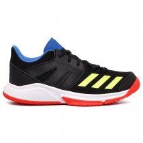 Imagem - Tênis Indoor Adidas Essence BD7406 Preto/Amarelo/Vermelho - 019064400062553