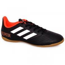 Imagem - Tênis Indoor Adidas Predator Tango 18.4 Cp9275 Preto/Branco/Vermelho - 019043400891326