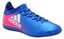 Imagem - Tênis Indoor Adidas X 16.3 Bb5678 Azul//Rosa Pink - 019043400311891